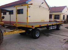 7C-0.5T walking tractor trailer