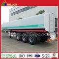 3 50m3 eixos reboque tanque de combustível do caminhão tanque dimensão opcional para venda