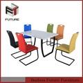 mesa de jantar metal usado do salão de beleza de móveis