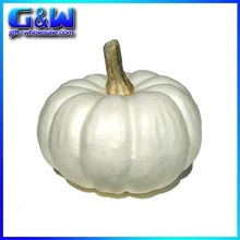 Halloween Decorative Craft Wholesale Vegetables Artificial White Pumpkin