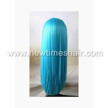 Dark blue wig