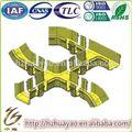 Revestimento de chão / cabo de fibra tubo de proteção / fibra sulco