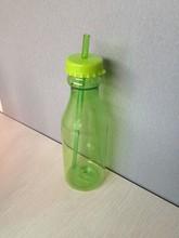 2014 yeni arrivel!!! Yüksek kaliteli plastik soda şişeleri satılık BPA farklı renk saman