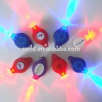 hot selling product for 2014 led flashlight keychain,custom logo mini bike flashlight,promotional gifts led flashlight keychain