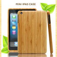 Fashion design for ipad case/wood/bamboo, unique design for ipad air case, custom logo wholesale for ipad mini case