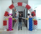 [NEW] 4-Round Foil Balloons Wholesaales Inflatable Decoration Arch Balloon