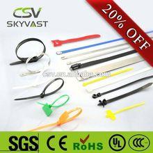 Factory Direct printed logo nylon66 cable tie organizer