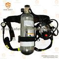 Aparato de respiración autónomo( scba) con alta presión 6.8l de fibra de carbono del cilindro- ayonsafety
