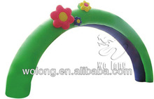 2014 hot & cheap Inflatable Rainbow flower arch/inflatable advertisement product