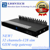 12 Months Warranty Ejointech 32 channels 128 sim IAX2 voip gateway with sim bank