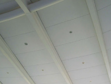 New water and moisture resistant light weight suspended ceilings