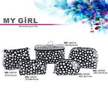 MY GIRL 2014 wholesale cheap price high quality luxury fashion Polka Dot cosmetics