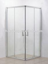 Economic bathroom sliding glass screen
