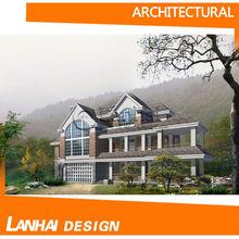 Steel Structure Prefabricated Luxury Villa