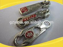 Hot sale Fashion Nylon Zipper Slider Pull for Suitcase luggage slider for zipper