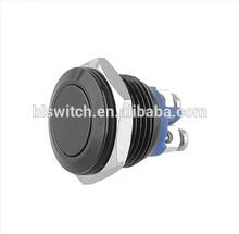 16mm Start Horn Button Momentary Metal Push Button Screw Terminals
