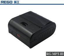 2D Code Bluetooth Portable POS Printer For Museum