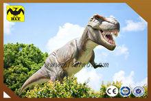 HLT Dino-Jurassic Park silicone rubber life-size t-rex dinosaur