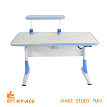 2015 Ergonomic kids adjustable desk Top Quality