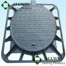 cast iron manhole cover for morocco 850x850x600
