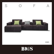di fascia alta moda di uva viola divano ad angolo matrimonio divano set