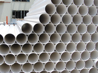 wholesale water pipes/plumbing materials/80mm pvc pipe