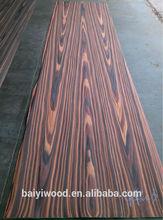 high quality reconstituted black walnut burl wood veneer for furniture