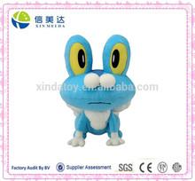 Anime Pokemon Very Cute Plush Blue Frog Stuffed Doll