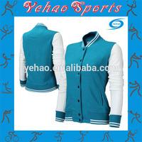 wholesale custom fleece girls varsity jacket