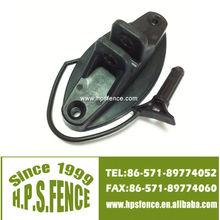 Wood Post Pinlock Insulator - Black GREAT VALUE!!