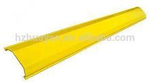 fiberglass duct rodder pipe dredge/fiber cable protection tube/fiber groove