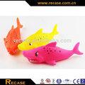 Brinquedos de vinil, Borracha forma, Figura Animal Sharks