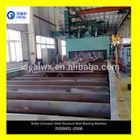 Auto I Beam Steel Structure Shot Blasting Surface Descaling Polishing Machine