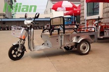 electric Tricycle 3 Wheel electric Cargo Bike lithium battery family electric cargo bike SW-COB -C07