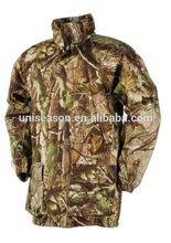 Winter waterproof breathable camo hunting wear