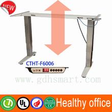 Electric height adjustable legs ergonomic height adjustable computer desk frame executive office desk
