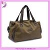 Newly utility two tone fashion duffel bag