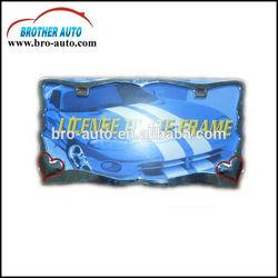Zinc alloy standard American 310*165mm size license plate frame