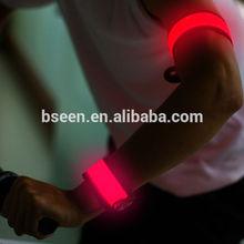 Cool design sports LED light women arm cover