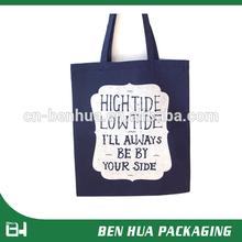 New Design Organic Blank Natural Cotton Bag