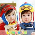 o novo chapéu infantil inverno mongol comércio exterior chapéu das crianças voando chapéu chapéus de inverno chapéus baby