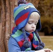2014 Winter New Cute Baby Earflaps Hat Crochet Pattern