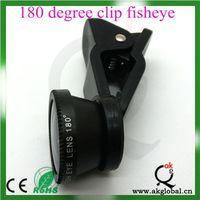 For ipad /tabet PC universal fisheye 180 degree fisheye lens