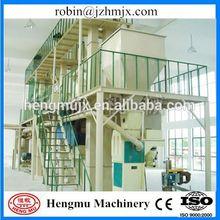 Ring die or flat die pellet/power feed unit feed pellet machine production lin