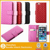 Wholesale for iPhone 6 iPhone 6 plus case accessories,pu leather case for iPhone 6 plus