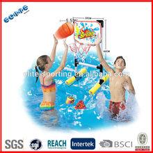 plastic folding portable soccer football goal and basketball board 2 in 1 sport set