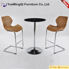 High quality commercial high top bar table and chairs