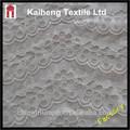 2014 vendas quentes 100% nylon laço china mercado recente baratos ondulado laço de tecido branco para vestidos de noiva, vestidos de noiva