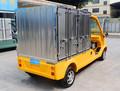 alta qualidade 2 assentos de carro de entrega de refeições do caminhão