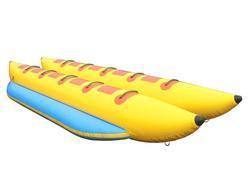 inflatable banana boat for water games, 0.9mmPVC, banana boat double tubes banana boat have stocks